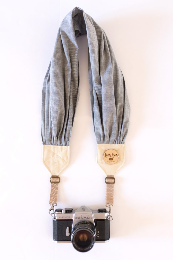Ladies Grey Camera Straps